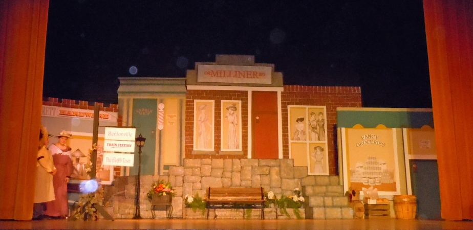 "Set and Prop Design by Cally Curtis, ""Pollyanna,"" McCoy's Grand Theatre."