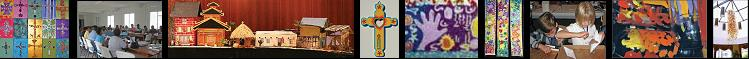 Liturgical Art Workshop Photo-Spread. Meaningful art workshop ideas for groups of all sizes.