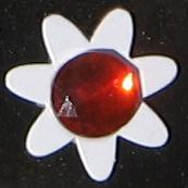 Flower Button for CallyCurtis.com site.